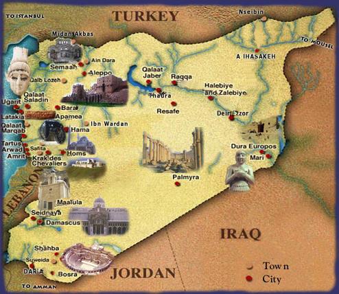 Syria_Tourist_Map